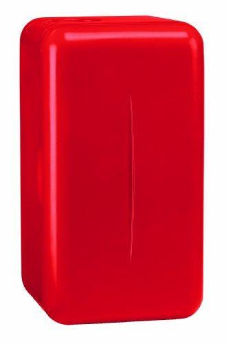 Mobicool F16 - elektrischer Mini-Kühlschrank, 15 Liter, 230 V, für Catering, Büro, Hotel oder zu Hause, rot, A++